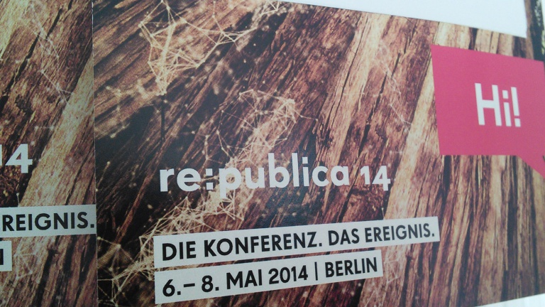 re:publica 2014 | Namensschilder