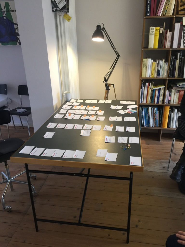 Sitemap-Workshop mit Kunden